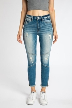 KanCan High Rise Ankle Skinny (kc9193m) - Product List Image