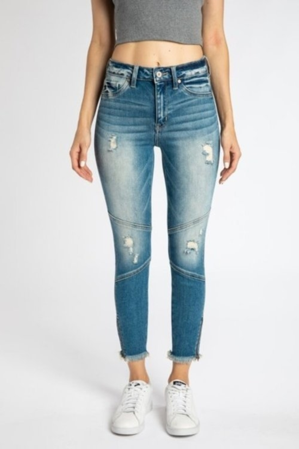 KanCan High Rise Ankle Skinny (kc9193m) - Main Image