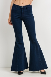 Just Black Denim High Rise Bell Bottom - Product Mini Image