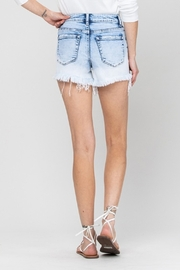 Vervet High Rise Bleach Shorts - Product Mini Image