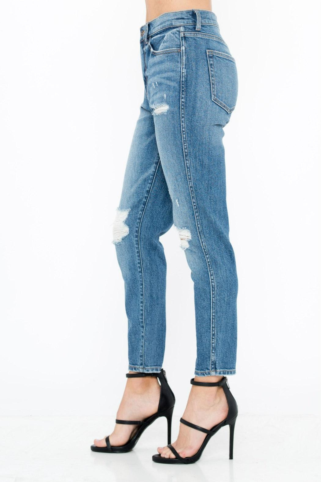 4fb6bd3190c Sneak Peek High-Rise Boyfriend Jean from Statesboro by Sole — Shoptiques