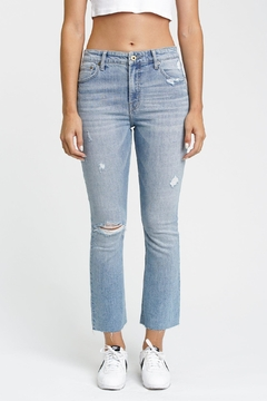 Pistola High-Rise Crop Jeans - Product List Image