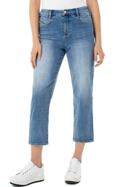Liverpool  High-Rise Crop Pant - Product Mini Image