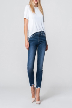 Flying Monkey High Rise Crop Skinny - Product List Image