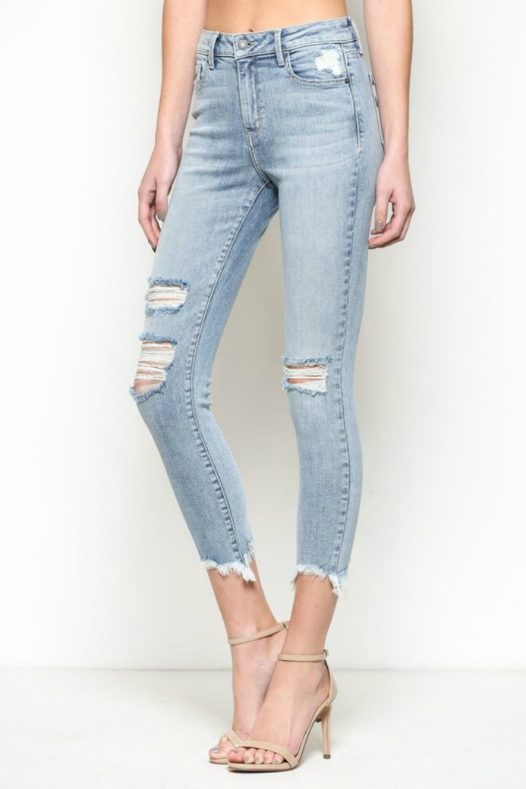 Hidden Jeans Taylor High Rise-Skinny - Front Cropped Image