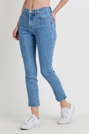 Just Black Denim High Rise Cropped - Side cropped