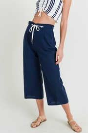 Love Tree High Rise Culottes - Front cropped