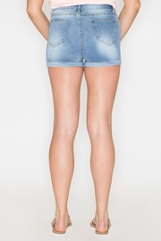 Listicle High-Rise Denim Shorts - Side cropped