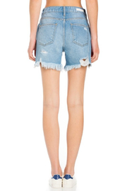 Cello Jeans High Rise Destroyed Shorts - Other