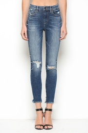 Hidden Jeans High Rise Distress Skinny - Product Mini Image