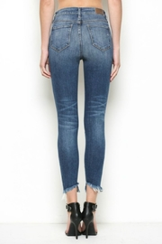 Hidden Jeans High Rise Distress Skinny - Back cropped