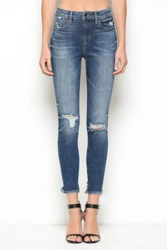 Hidden Jeans High Rise Distress Skinny - Product List Image