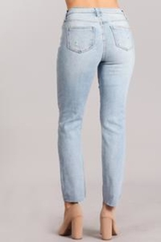 Celebrity Pink  High-Rise Distressed Jeans - Front full body