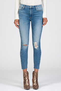 Black Orchid Denim HIGH RISE DISTRESSED SKINNY JEAN - Product List Image