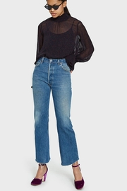 RE/DONE High Rise Flare - Front cropped