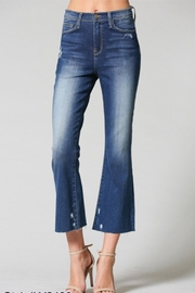Flying Monkey High-Rise Flare Denim - Product Mini Image