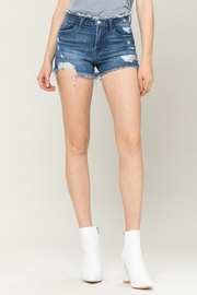 Vervet High Rise Frayed Shorts - Product Mini Image