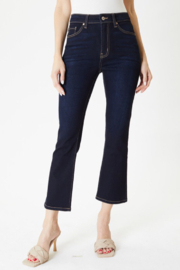 KanCan High Rise Kick Flare - Front cropped
