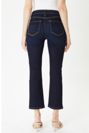 KanCan High Rise Kick Flare - Side cropped