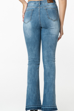 Funky Soul High rise kick flare jean - Alternate List Image