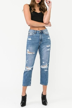 Shoptiques Product: High-Rise Maiden Girlfriend-Jean