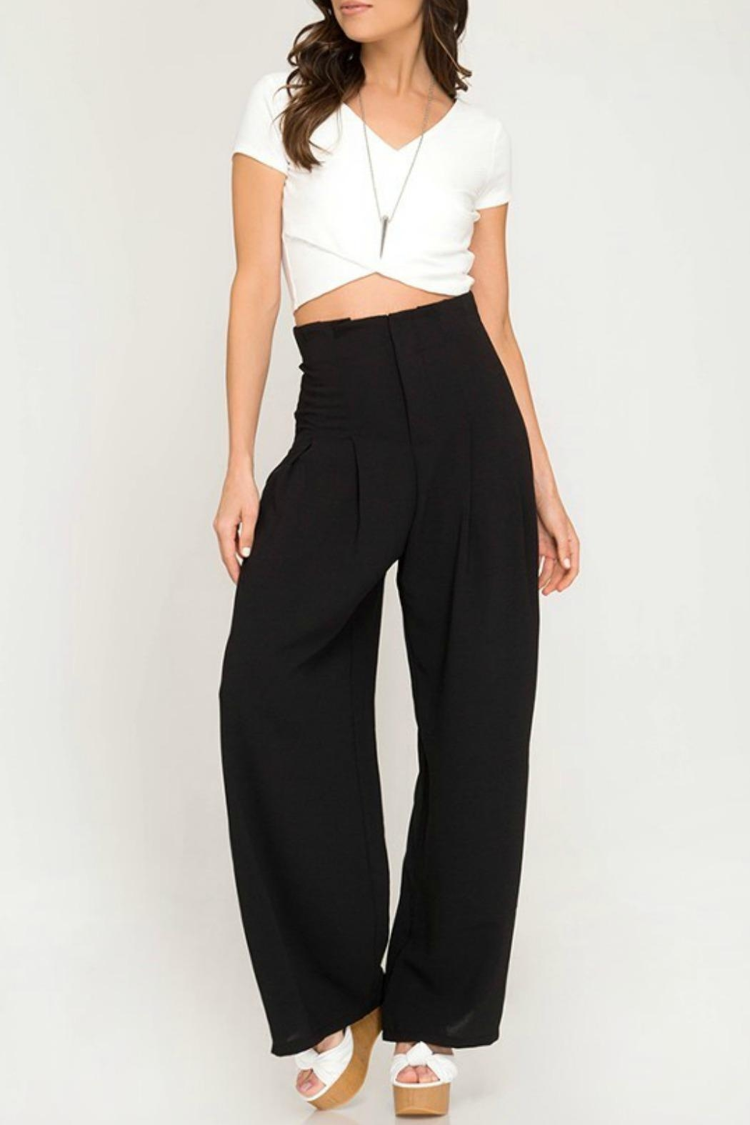 7a32e1957b112 She + Sky High Rise Pants from Kentucky by Izzie's Boutique — Shoptiques