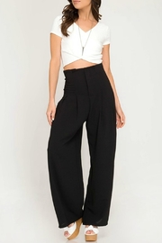 She + Sky High Rise Pants - Product Mini Image