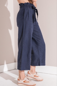 rag poets High-Rise Paperbag Pants - Alternate List Image