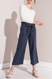 rag poets High-Rise Paperbag Pants - Front cropped