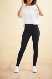 Yoga Jeans High Rise Pull-On Skinny Jeans - Product Mini Image