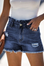 lily clothing High Rise Shorts - Front cropped