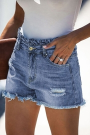lily clothing High Rise Shorts - Front full body