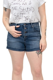Volcom High Rise Shorts - Front cropped