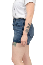 Volcom High Rise Shorts - Side cropped