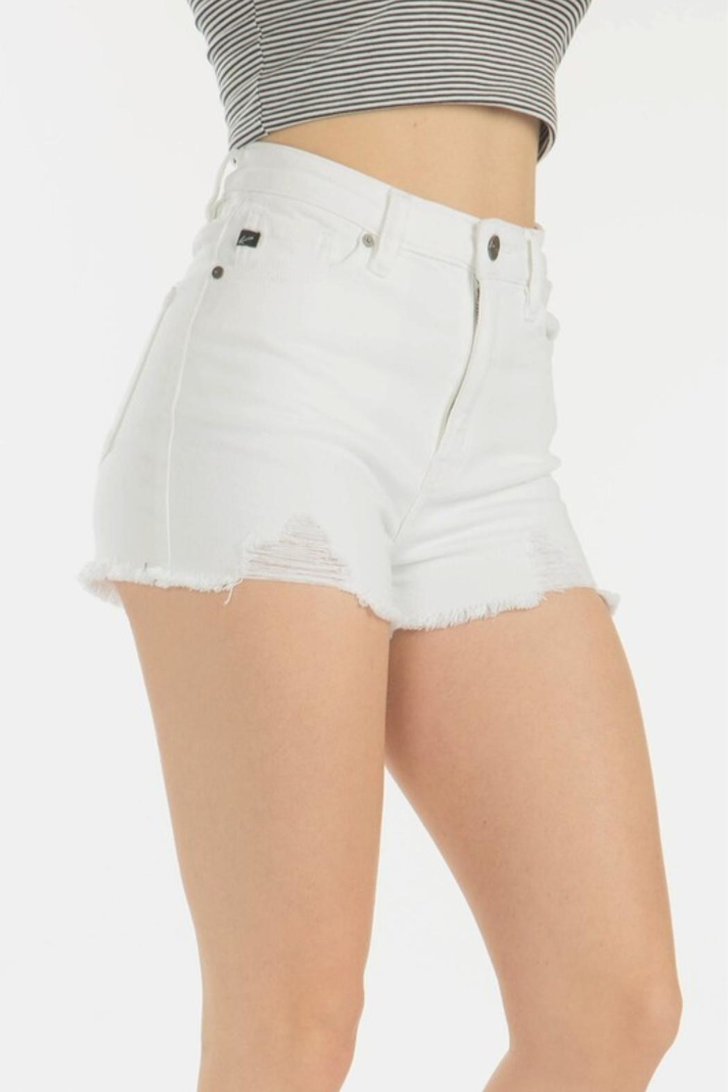 KanCan High Rise Shorts - Front Full Image