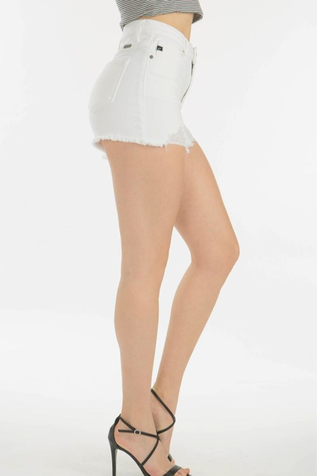 KanCan High Rise Shorts - Side Cropped Image
