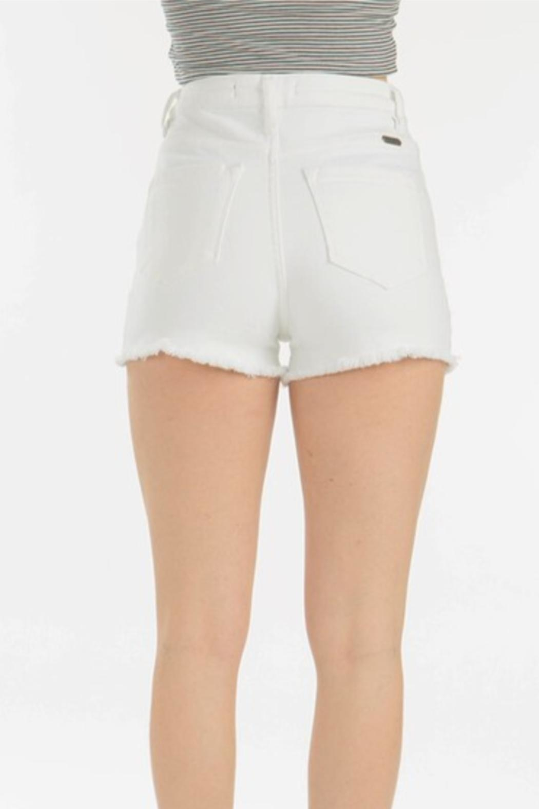 KanCan High Rise Shorts - Back Cropped Image