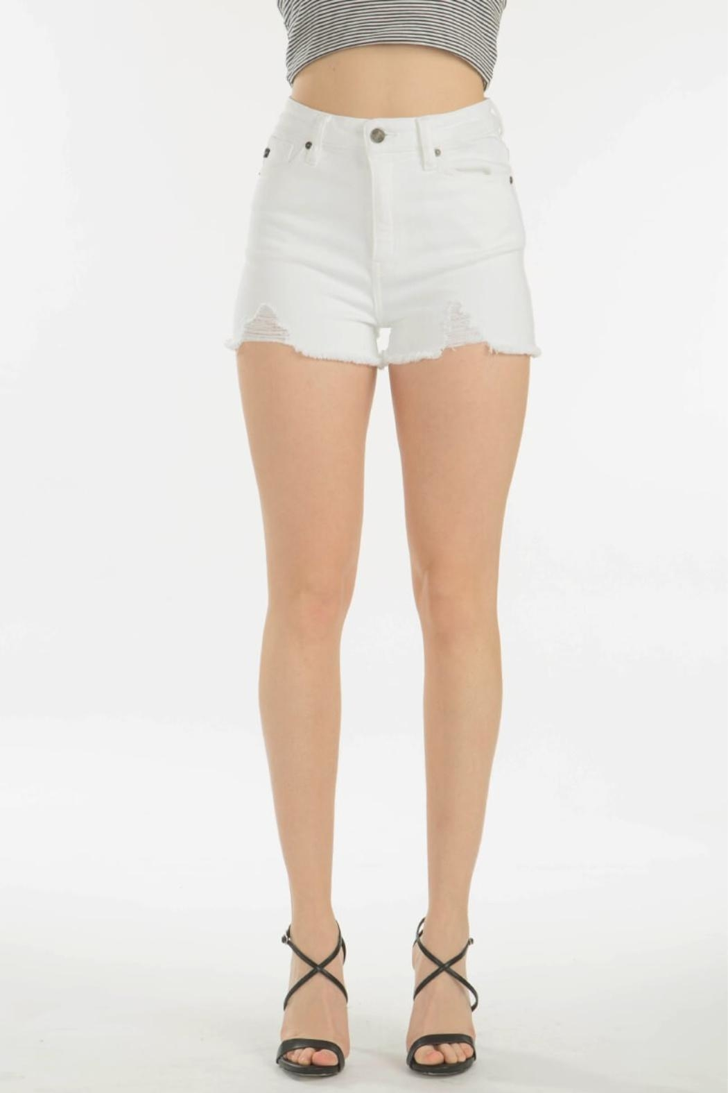 KanCan High Rise Shorts - Main Image