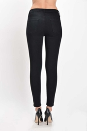 just black High Rise Skinny - Front full body