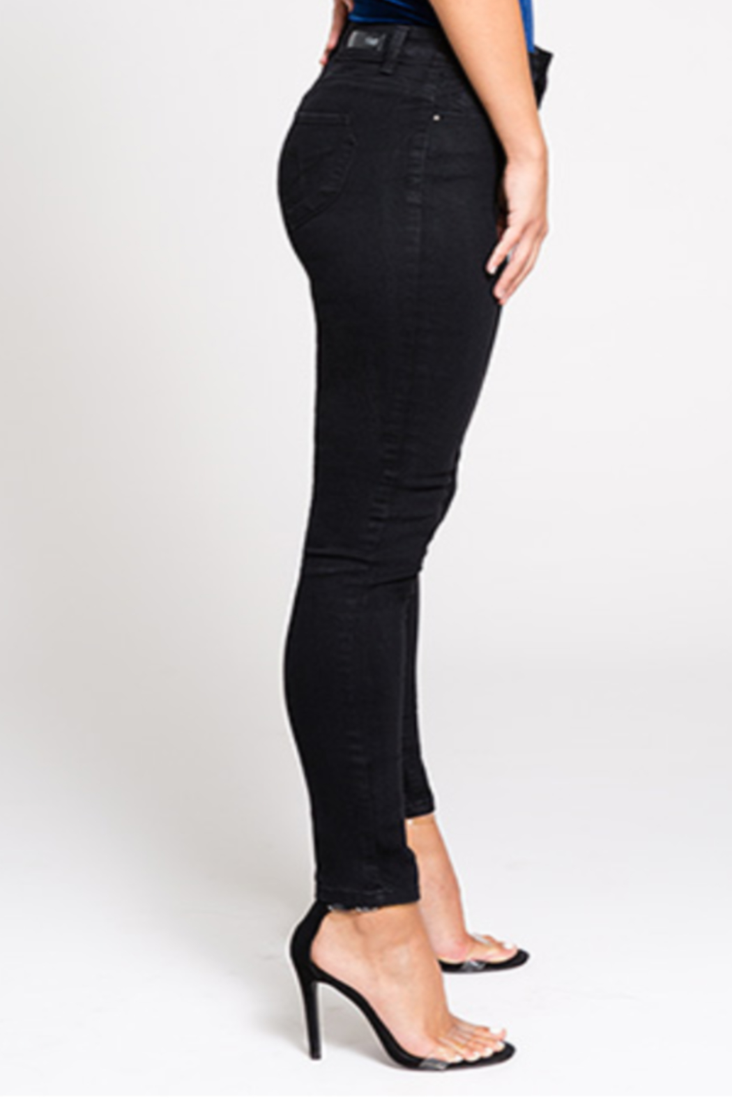 YMI High Rise Skinny - Front Full Image
