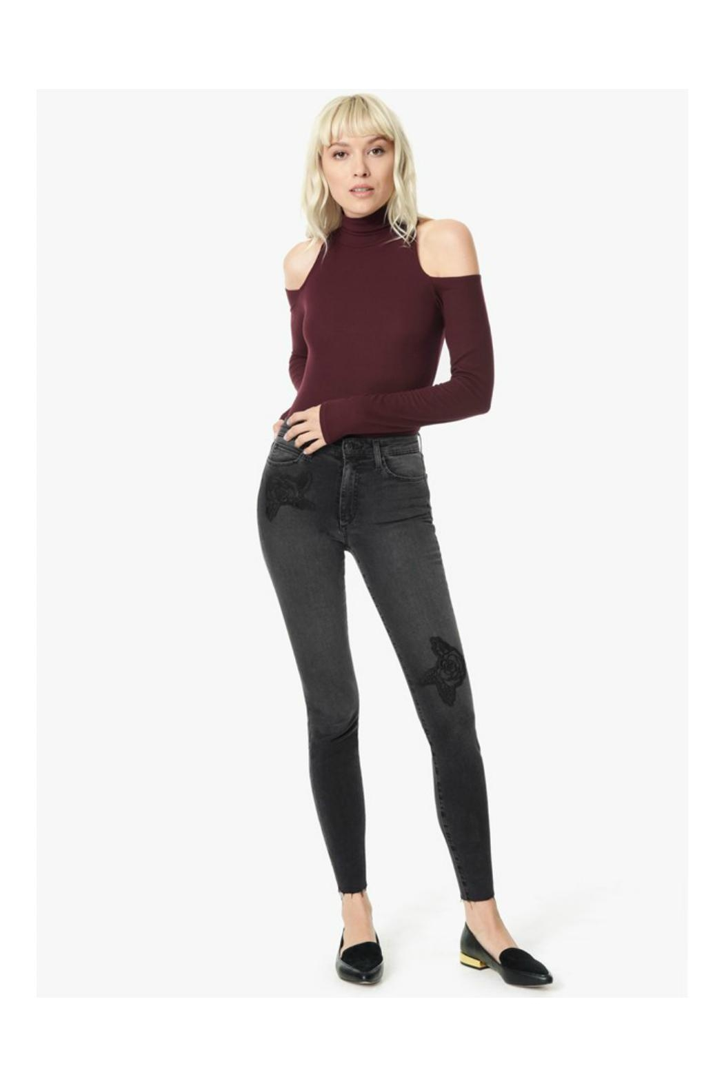 Joe's Jeans High Rise Skinny - Back Cropped Image