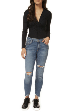 DEX Jeans High Rise Skinny Destructed 27