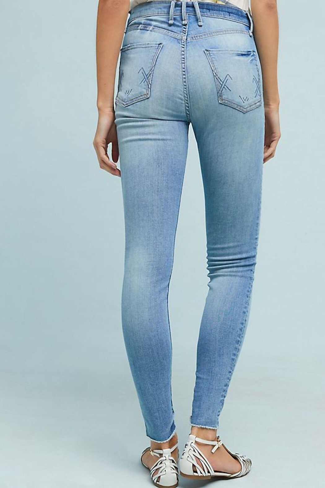 MCGUIRE DENIM High-Rise Skinny Jeans - Front Full Image