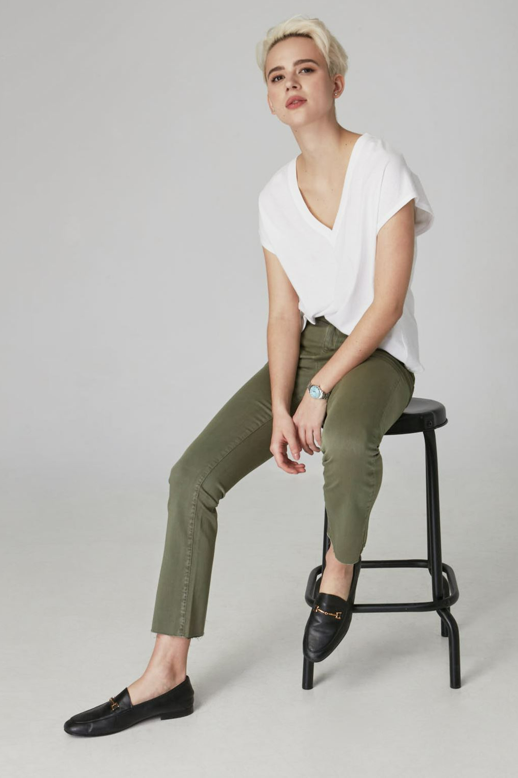 Lola Jeans High Rise Straight Jeans - Main Image