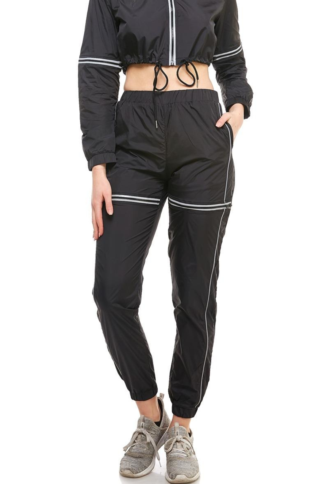 Hot & Delicious High-Rise Track Pants - Main Image