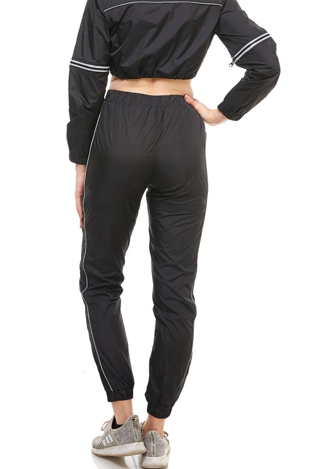 Hot & Delicious High-Rise Track Pants - Side Cropped Image