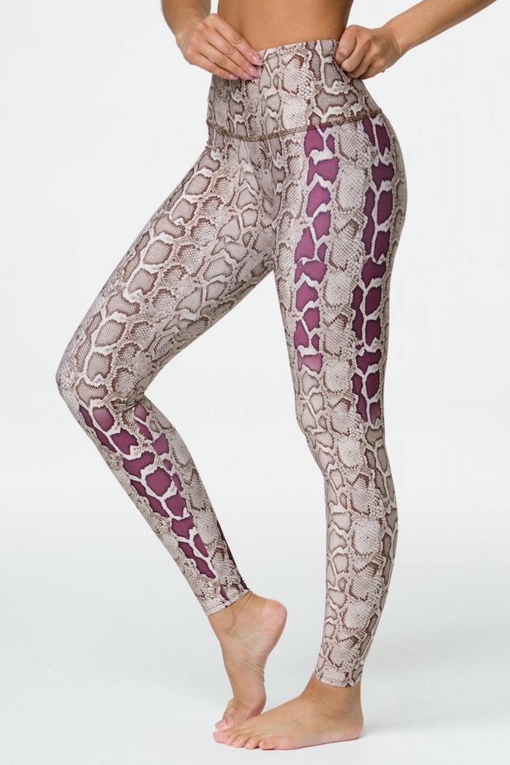 Onzie High Rise Viper Graphic Legging - Front Full Image