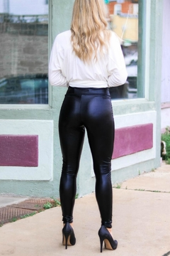 L & B High Shine Leggings - Alternate List Image