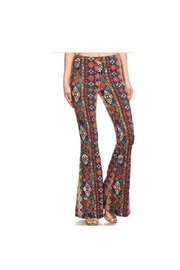 Bear Dance High-Waist Bell Bottoms - Product Mini Image