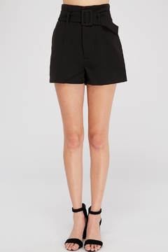 Shoptiques Product: High-Waist Belted Shorts